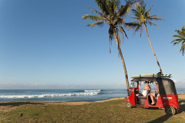 Plage de Midigama, le Sri Lanka à la cool…