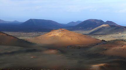 La montagne d'or de Timanfaya
