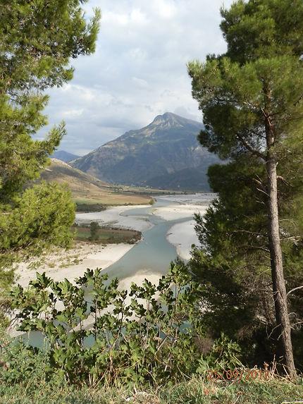 Beaux paysages d'Albanie