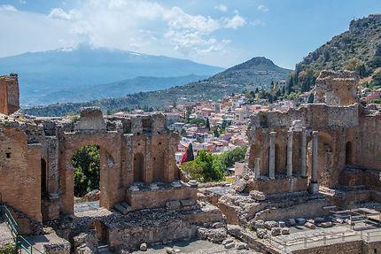 Le théâtre grec de Taormine