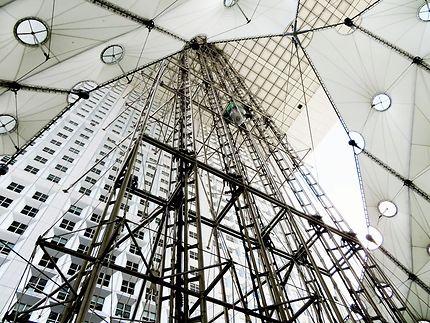 Les ascenseurs de la Grande Arche