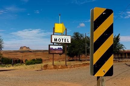 Motel non loin de Monument Valley