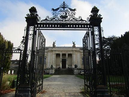 Porte d'entrée du musée des beaux-arts de Laval