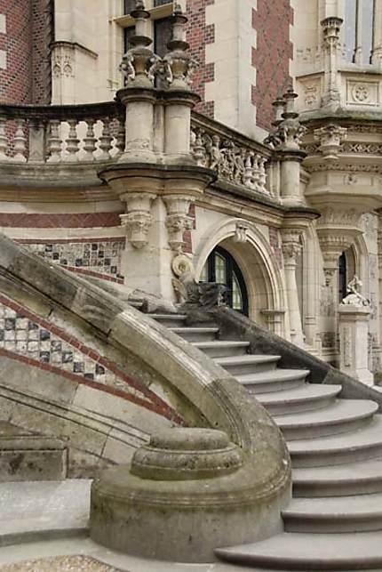 Palais Bénédictine - Escalier