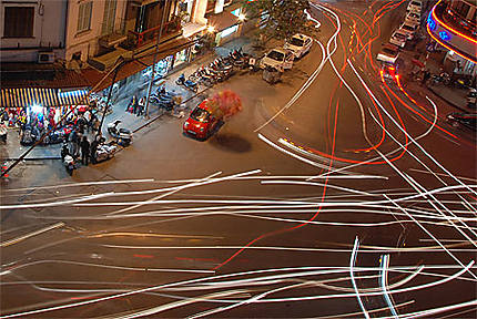Le trafic à Hanoi