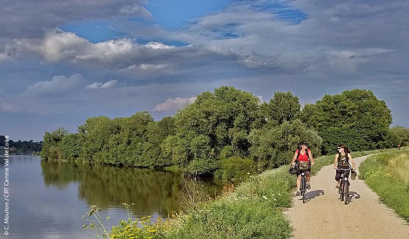 la Loire à vélo, d'Orléans à Blois