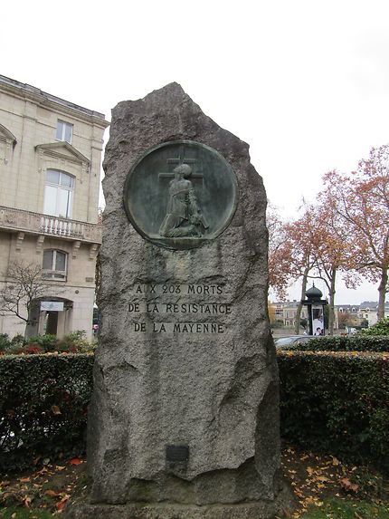 Monument à la Résistance, Laval
