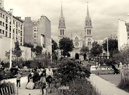L'église Saint Ambroise