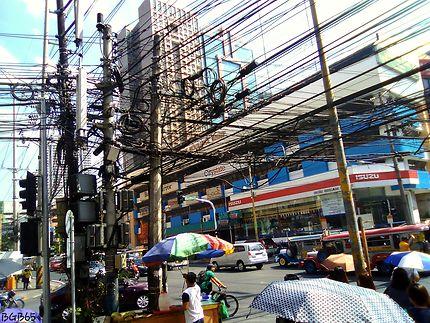 Les branchements à Manille