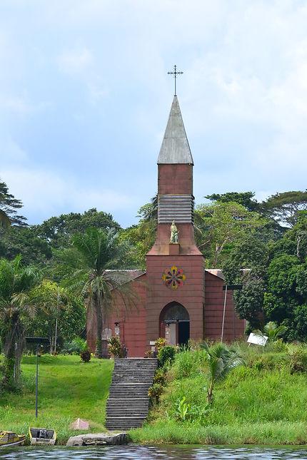 Eglise de la mission Sainte-Anne au Gabon