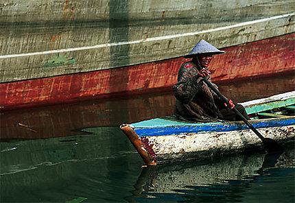 Passeur du port de Sunda Kelapa