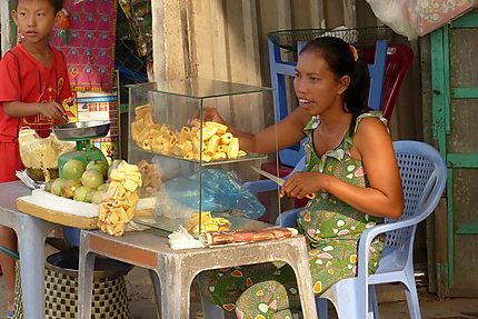Le durian, le fruit le plus apprécié