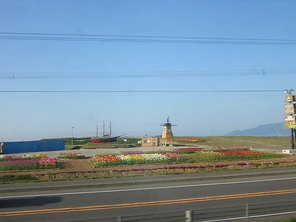 Arrivée sur l'île d'Hokkaïdo