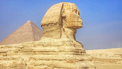 Pyramides de Guizèh et Sphinx