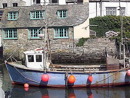 Polperro - Petit bateau