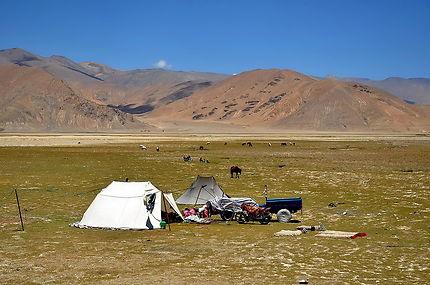 Nomades tibétains