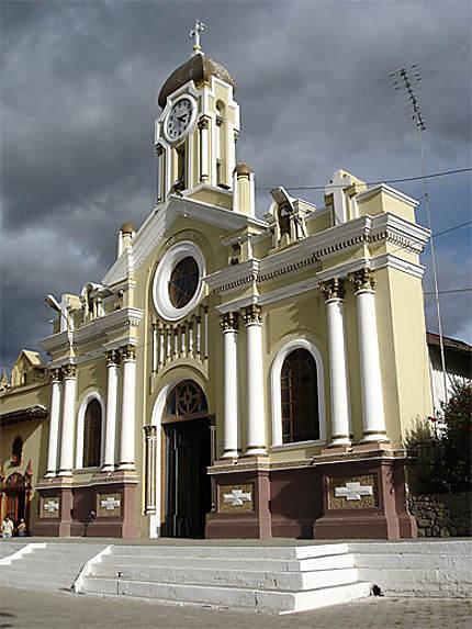 Eglise à Vilcabamba