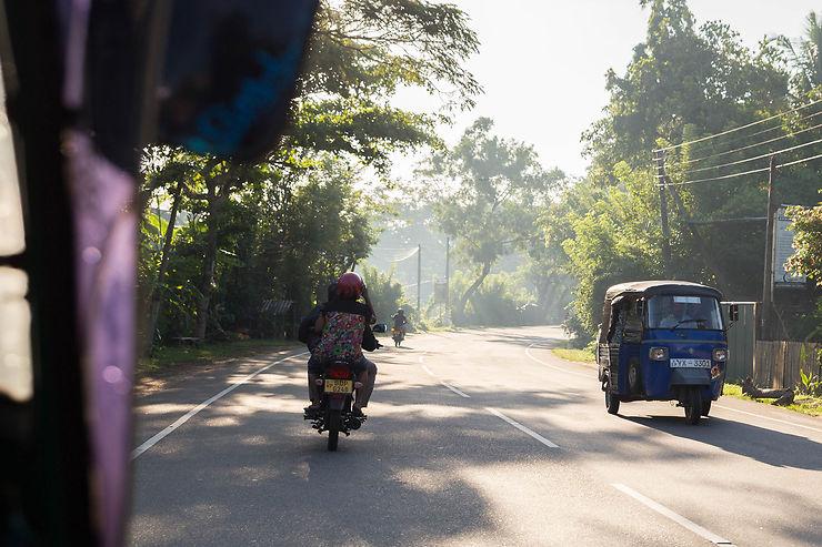 Au sud de Colombo, la route des plages