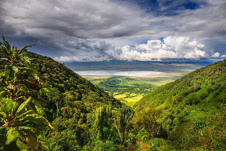 Zone protégée du Ngorongoro, merveille du monde