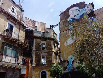 Linge et graffiti