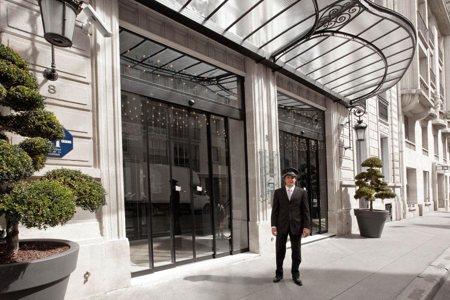 h tel la maison champs elys es 8 me arrondissement paris avis hotel. Black Bedroom Furniture Sets. Home Design Ideas