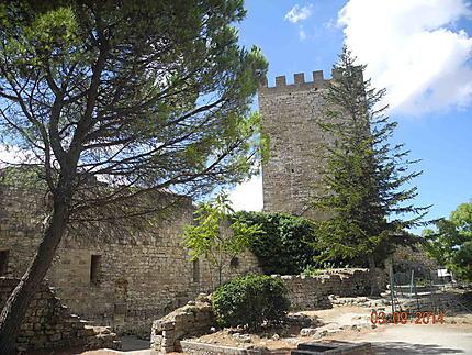 Enna Château dit des Lombards