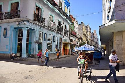 Rue de la vieille Havane