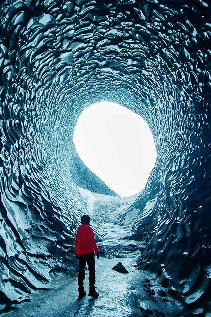 Voyage au centre de la glace, Vatnajökull