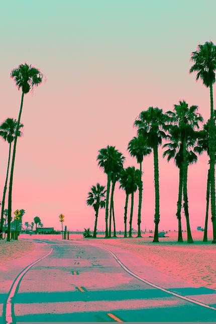 Santa Monica en couleur