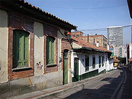 Dans les rues de la Candelaria