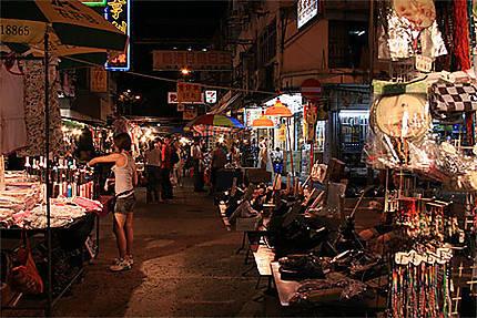 Marché de nuit de Temple Street