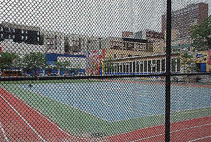 Cour d'école à Harlem