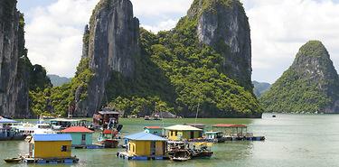 Cambodge-Vietnam : Entre ciel et eau