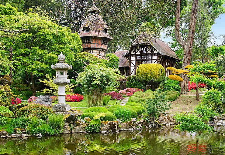 L'Anjou, côté jardin