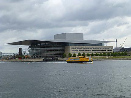 Enorme opéra de Copenhague