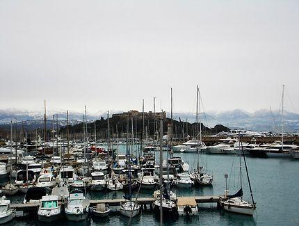Le port d'Antibes