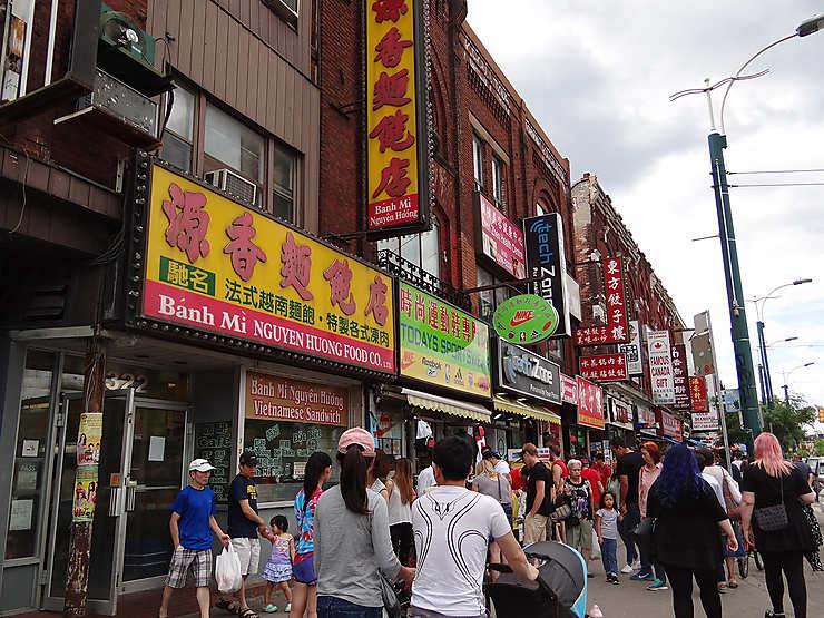 Chinatown, grouillante de vie