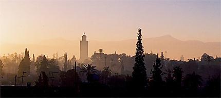 Marrakech au crépuscule