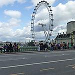 London Eye depuis le pont