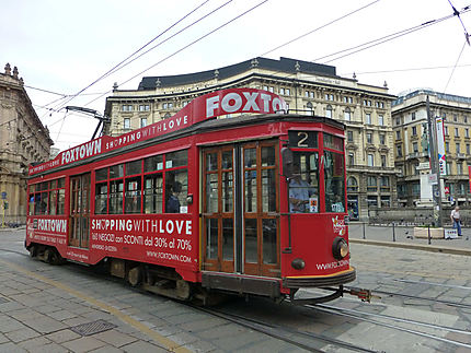 Vieux tram Milanais