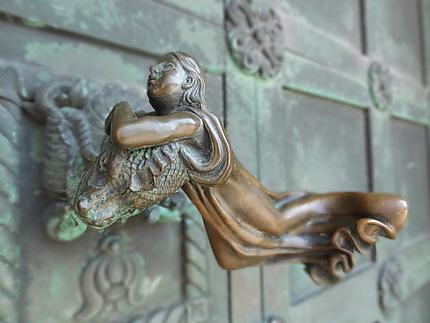 Poignée de porte de la cathédrale de Ribe