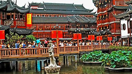 Jardin Yu Yuan à Shanghai