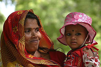 Mère et sa fille