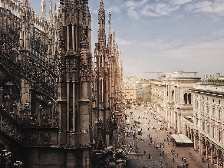 Duomo de Milan, Italie