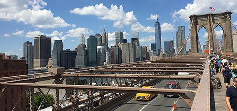 Retour de New York avec 2 enfants (10 et 7 ans)