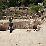 Tarrafal, vendeuse de noix de coco
