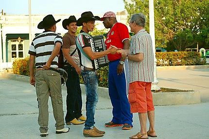 Des rancheros cubains