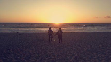Couché de Soleil en Californie