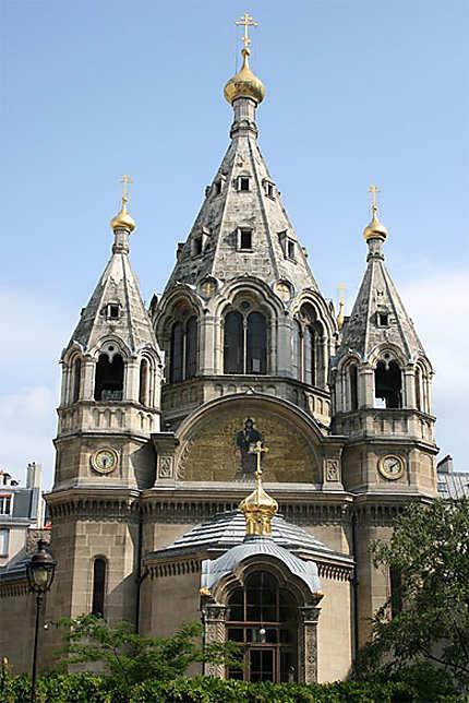 La cathédrale Saint-Alexandre-Nevski