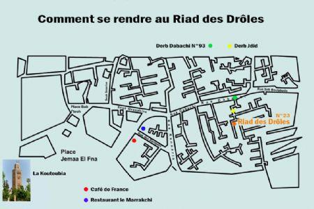 Photo hotel Riad des Drôles
